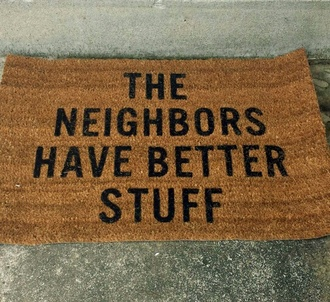 home accessory doormat funny doormat black