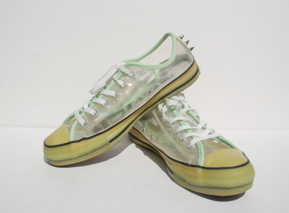 Sale glow in the dark studded converse allstar sneakers