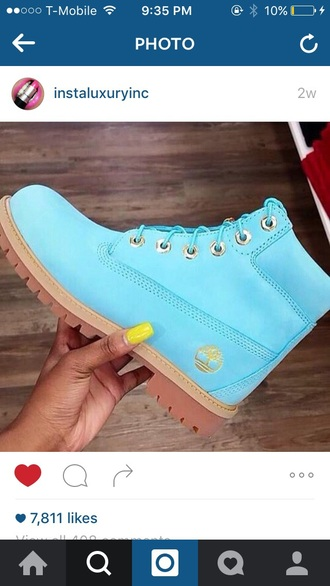 shoes timberlands light blue baby blue boots sky blue timberlands boots cute icy ankle boots blue yellow timberland timberland boots shoes urban streetwear streetstyle urban wear urban brand timberland boots blue shoes timbaland mint aqua flat boots