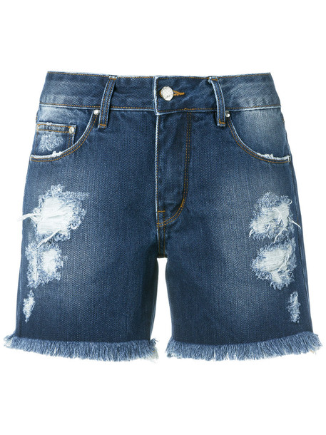 Amapô shorts denim shorts denim women cotton blue