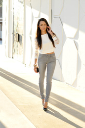 hapa time,blogger,top,jeans,leggings,shoes,bag,jewels