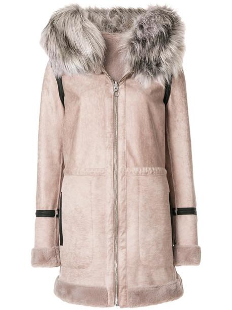 Urbancode coat fur faux fur women nude