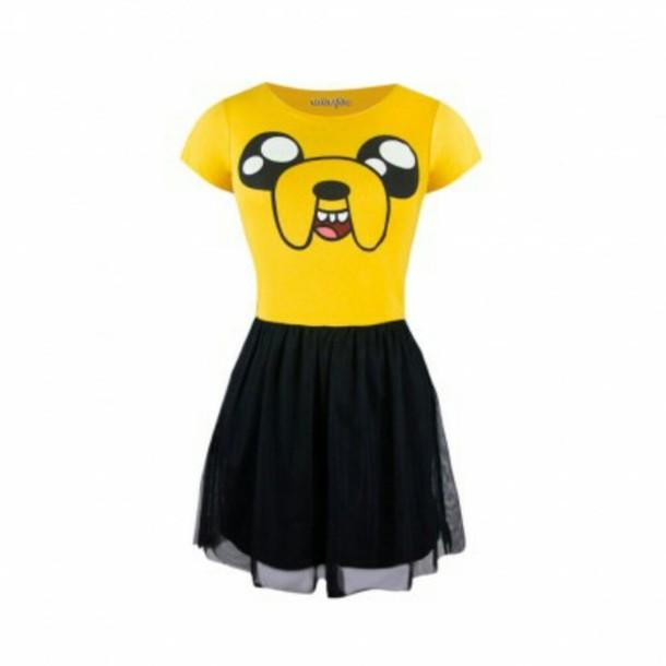 dress cartoon character jake funny kids dress
