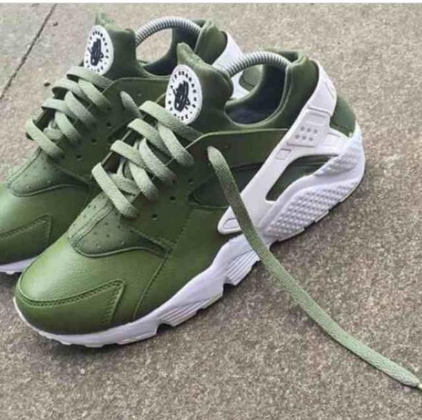 2bc5c0754ea3 shoes trainers nike hurraches huarache khaki green nike olive green