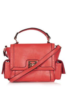 Side Pocket Satchel - Bags & Purses - Bags & Accessories - Topshop