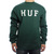 HUF Sweater | F11 National Crew Neck Sweater in Forest