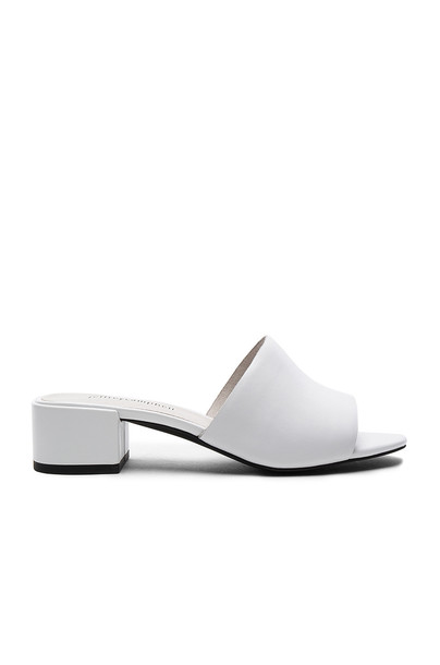 Jeffrey Campbell white shoes