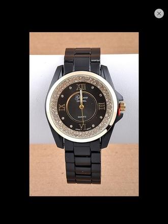 jewels watch geneva rhinestone roman numerical