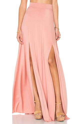 skirt maxi skirt maxi blush
