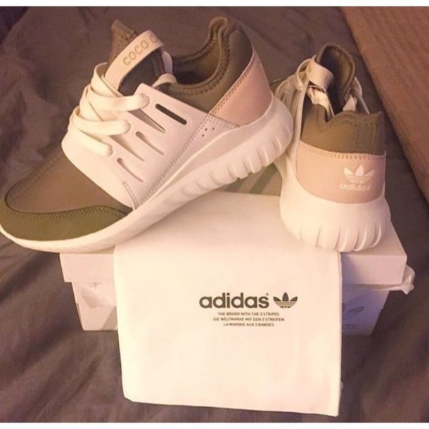 Adidas Superstar Olive Green Pink White Traniers | Adidas