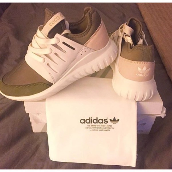 Adidas Women 's Tubular Viral White Sneakers at PacSun
