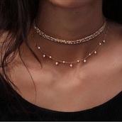 jewels,gold,goldchoker,choker necklace,choker collar