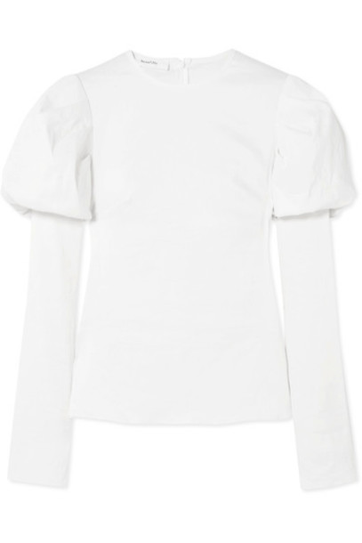 Beaufille top white