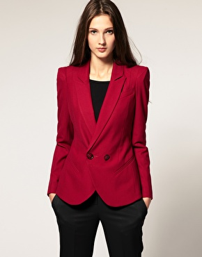 ASOS | ASOS Tailored Blazer With Power Shoulders at ASOS