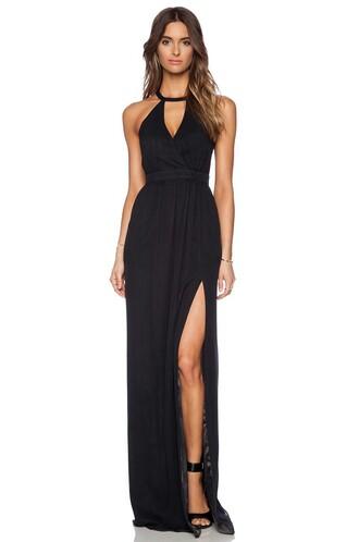 dress black dress black classy formal prom dress prom stylish long dress
