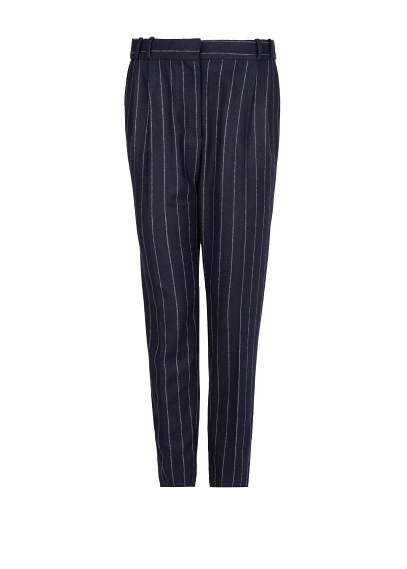 MANGO - CLOTHING - Trousers - Pinstripe wool-blend suit trousers
