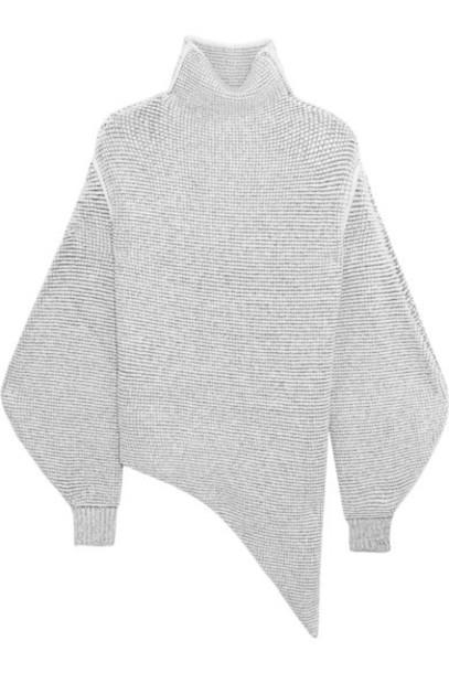 Stella McCartney - Oversized Stretch Wool-blend Bouclé Sweater - Off-white