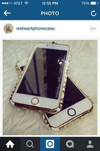 phone cover gold glittery shiny