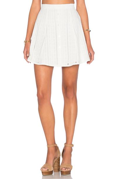 CAPULET skirt mini skirt mini white