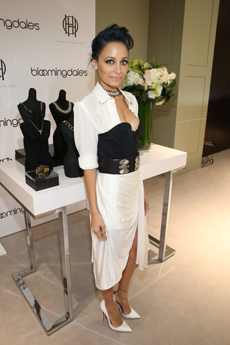 nicole richie shoes dress jewels necklace