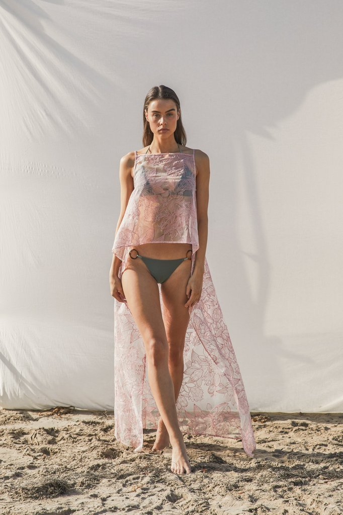 Amara Top - Dusty Pink