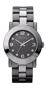 jewels,grey,watch,marc by marc jacobs