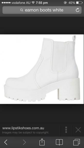 shoes platform shoes boots elastic lipstik small size chelsea boots