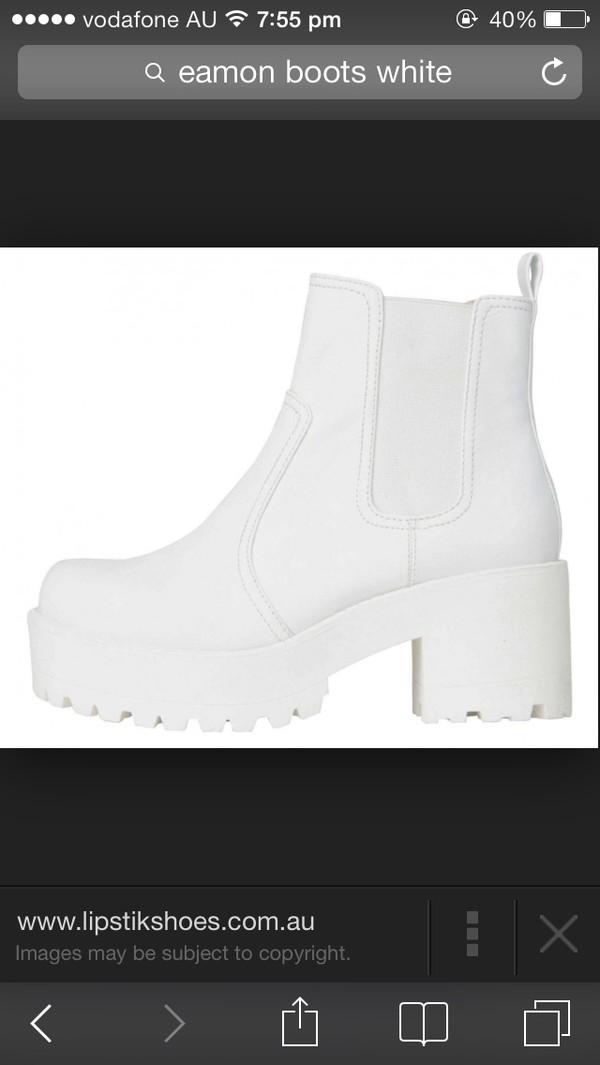 shoes boots elastic lipstik small size platform shoes chelsea boots