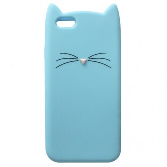 phone cover cats blue fashion style trendy iphone case cute kawaii teenagers boogzel iphone cover iphone