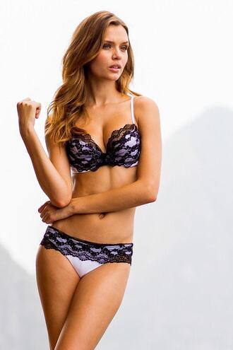 swimwear bikini full lace brazilian bikini d-cup dd print push up pushupcups underwire womens sauvage bikiniluxe
