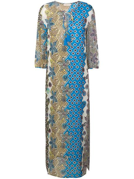 Tory Burch dress beach dress beach women print silk