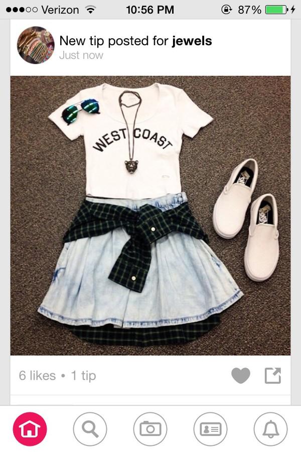 skirt jean skirt