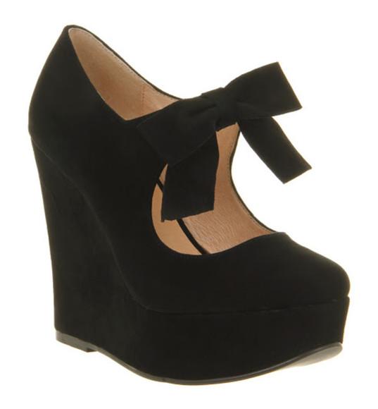 cloth wedge heels size 4