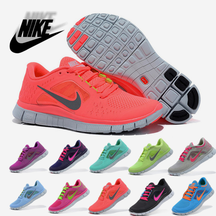2014 Free shippinig Nike free 5.0 running women sports shoes Running Shoes size:36 40-in Running Shoes from Sports & Entertainment on Aliexpress.com