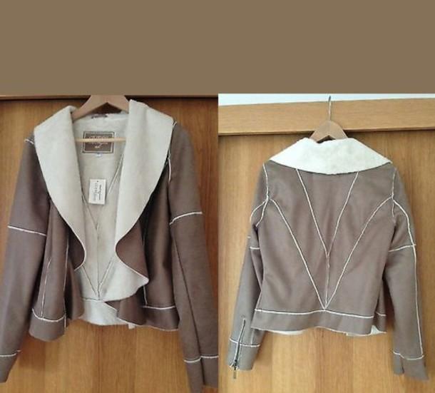 jacket beige jacket beige suede suede jacket soft faux fur soft faux fur coat
