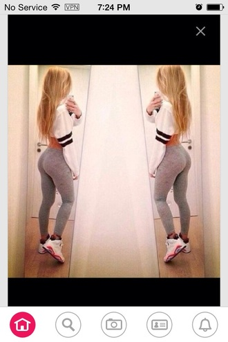 phone cover gray leggings white crop tops jordans iphone red lime sunday
