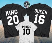 tees2peace,36683,king and queen,king queen,the king his queen,the king his queen shirts,king queen prince,family matching shirts,king queen princess,thanksgiving set,matching family,matching set,mom and baby,royal,queen,king,t-shirt