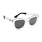 Wonderland colony sunglasses - clear/gloss black/grey