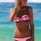 Sexy cute shining colorful bikini