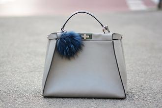 bag blogger fashion vibe white bag leather bag