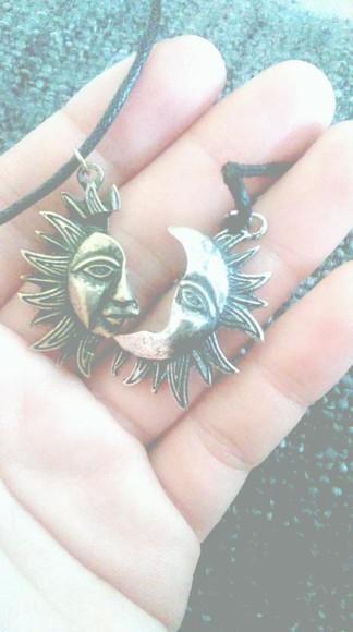 jewels sun necklace