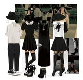 hat,american,horror,story,blouse,shirt,dress,jewels,shoes,underwear,pants