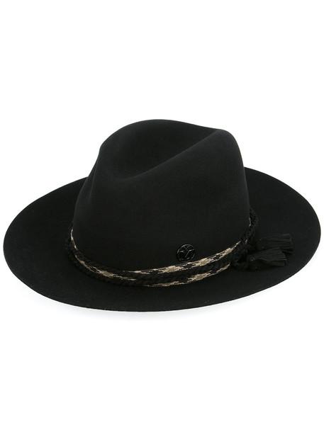 tassel hat black