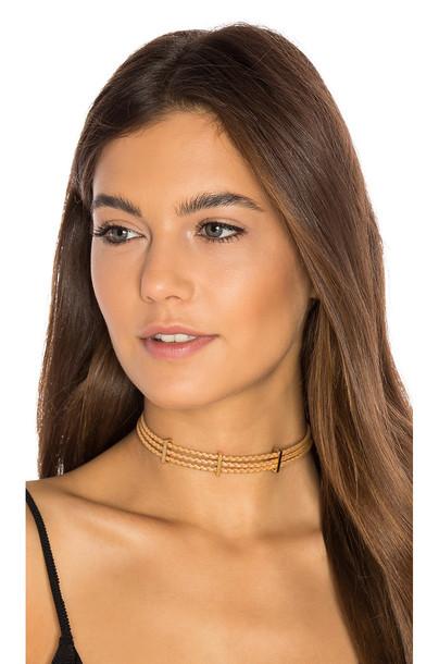 Ettika tan jewels