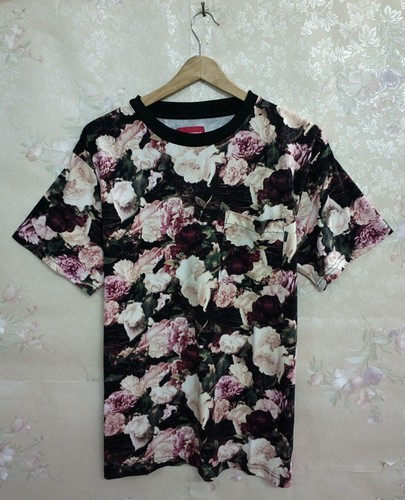 2013 NEW HOT floral paintings Unisex Round collar short sleeve T-Shirt | eBay
