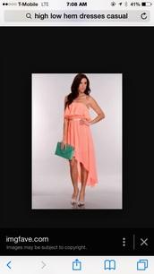 dress,pink,dipped hem,internet,siliar look