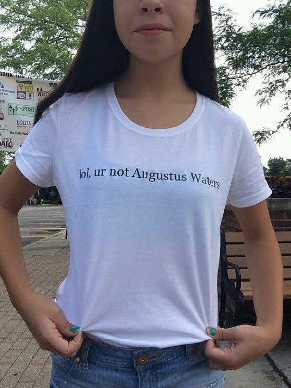 Augustus Waters Tfios Crew Neck T Shirt