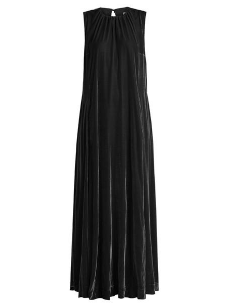 Raey dress maxi dress maxi velvet black