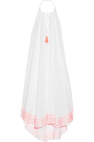 dress maxi dress maxi cotton white