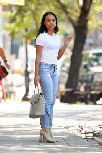 top jeans karrueche boots bag purse